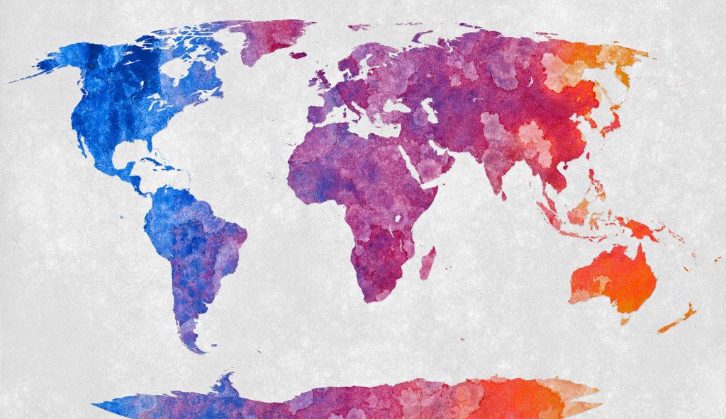 World map. Image credit: Nicolas Raymond